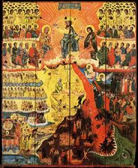 Ikona druhého příchodu Krista