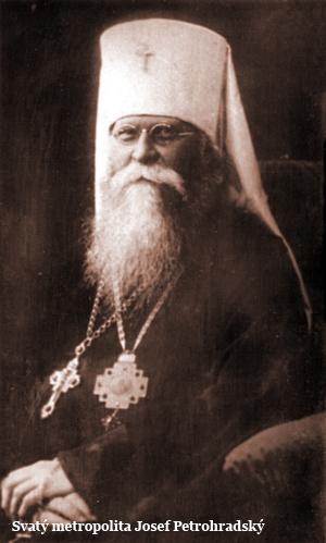 Svatý metropolita Josef Petrohradský
