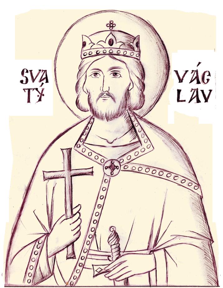 Svatý Václav - ikona