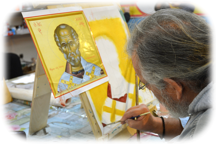 malování ikony
