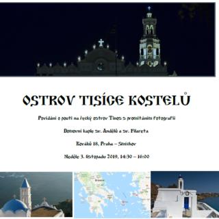 Přednáška o pouti na ostrov Tinos